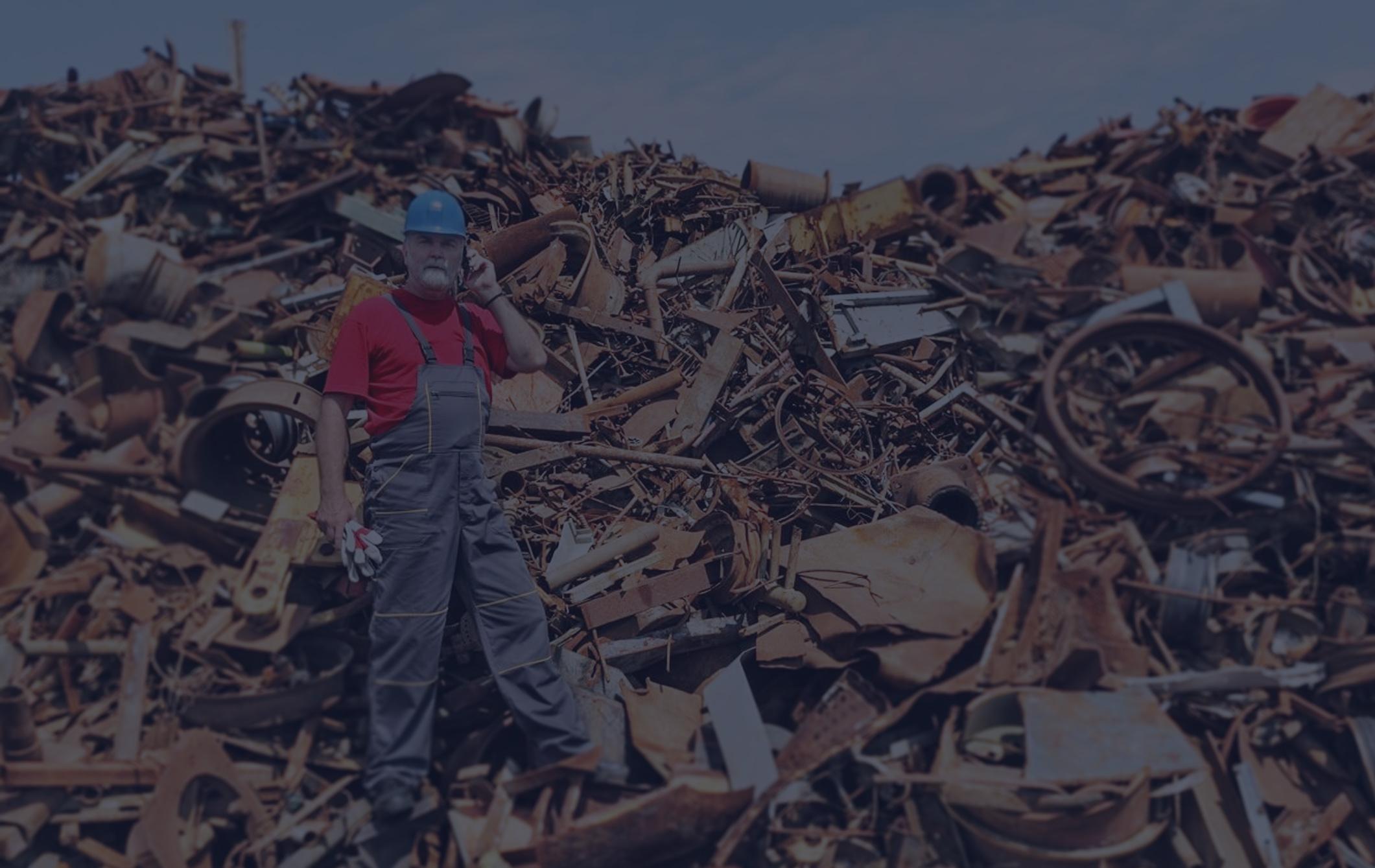 Сортировщик-сборщик лома и отходов металла